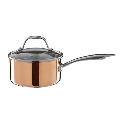 Picture of Copper Finish Saucepan