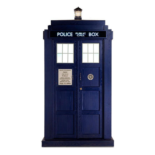 Picture of Dr Who Tardis