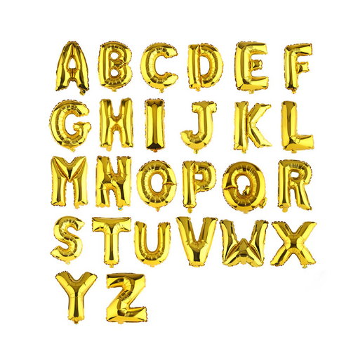 Picture of Helium Balloon Letters
